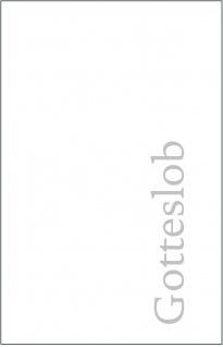 Gotteslob Schutzhülle Weiß für Gotteslob Gesangbuch Einband Katholisch