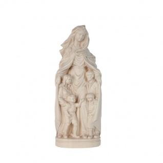 Mutter der Familie Holzfigur geschnitzt Südtirol Maria Mutter Gottes Figur - Vorschau 3