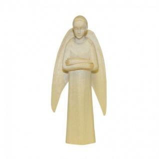Engel stehend Bauer-Krippe 17 cm handgeschnitzt Krippen Figur Weihnachten