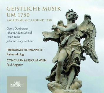 Geistliche Musik um 1750, Freiburger Domkapelle - Vorschau