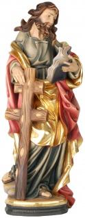 Heiliger Philippus Apostel Holzfigur geschnitzt Südtirol Schutzpatron