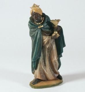 König Mohr Malsiner Krippenfigur 18 cm Krippen Figur Weihnachten