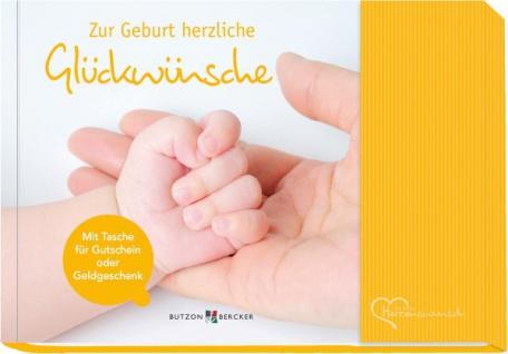 Zur Geburt herzliche Glückwünsche, Geschenkbuch Christliche Bücher