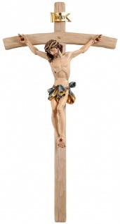 Holzkreuz Kruzifix Corpus Barock geschnitzt