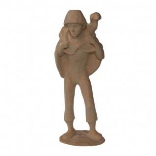 Hirte Schulterschaf Bauer-Krippe 17 cm geschnitzt Krippen Figur Weihnachten