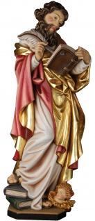 Heiliger Matthäus Holzfigur geschnitzt Südtirol Schutzpatron Apostel Evangelist