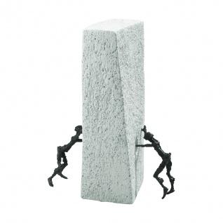 Bronzefigur Der Durchbruch 25 cm Bronze Figur Bronzeskulptur