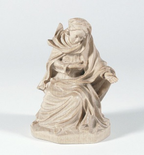 Krippenfigur Maria 14 cm Mesner-Krippe Holz geschnitzt Krippen Figur Weihnachten