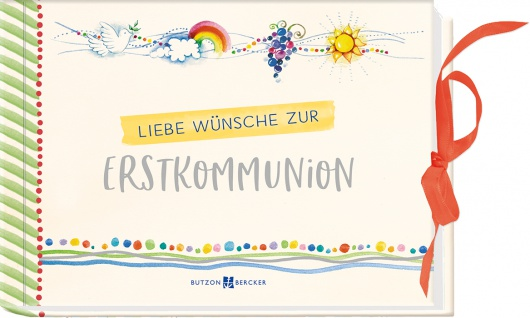 Geschenkbuch Liebe Wünsche zur Erstkommunion Gutschein oder ein Geldgeschenk