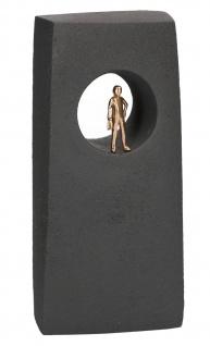 Neue Ausblicke Bronze Figur 19 cm Kerstin Stark Steinguss Skulptur Statue