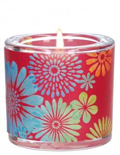 Windlicht Glas Genuss Teelicht Geschenkverpackung Pergament-Umleger