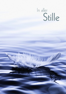 Trauerkarte In aller Stille (6 Stck) Gutheil Beileidskarte Kondolenzkarte Kuvert