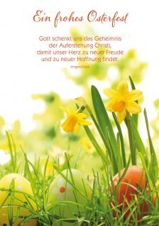 Postkarte Ostern 10 St Adressfeld Irmgard Erath Auferstehung Christus Hoffnung