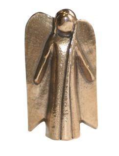 Schutzengel Handschmeichler Bronze 4, 5 cm Engel Figur Kerstin Stark