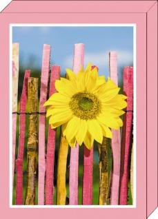 Grußkarten Geschenkbox Blumengrüße 4 Motive á 2 Karten 8 Klappkarten Kuvert
