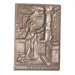 Namenstag Johanna 8 x 6 cm Bronzeplakette