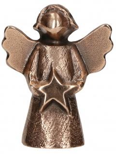 Bronzefigur Engel Sternenzeit Kerstin Stark Bronze Statue Skulptur