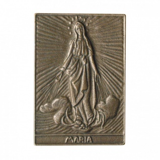 Namenstag Maria 8 x 6 cm Bronzeplakette