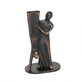 Bronze Skulptur Unterstützung 7 cm Stark Kerstin Figur Statue