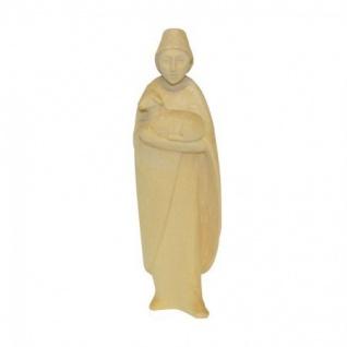 Hirte stehend mit Lamm Bauer-Krippe 17 cm handgeschnitzt Krippen Figur Weihnachten