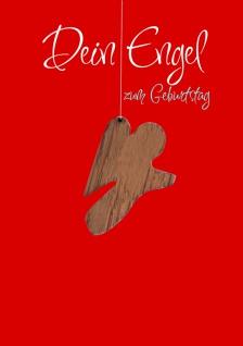 Geburtstagskarte Anhänger Dein Engel (5 St) Glückwunschkarte Kuvert - Vorschau