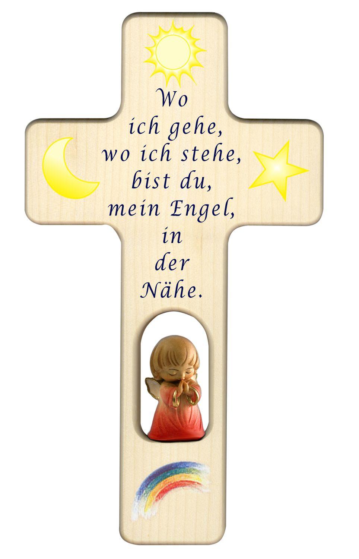 Kinder Kreuz Mit Engel Taufe Baby Kleines Kindgerechtes