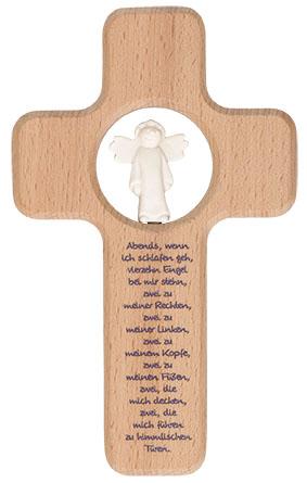 Kreuz Für Kinderzimmer | Kreuz Fur Kinder Vierzehn Engel 18 Cm Kruzifix Holz Kreuz