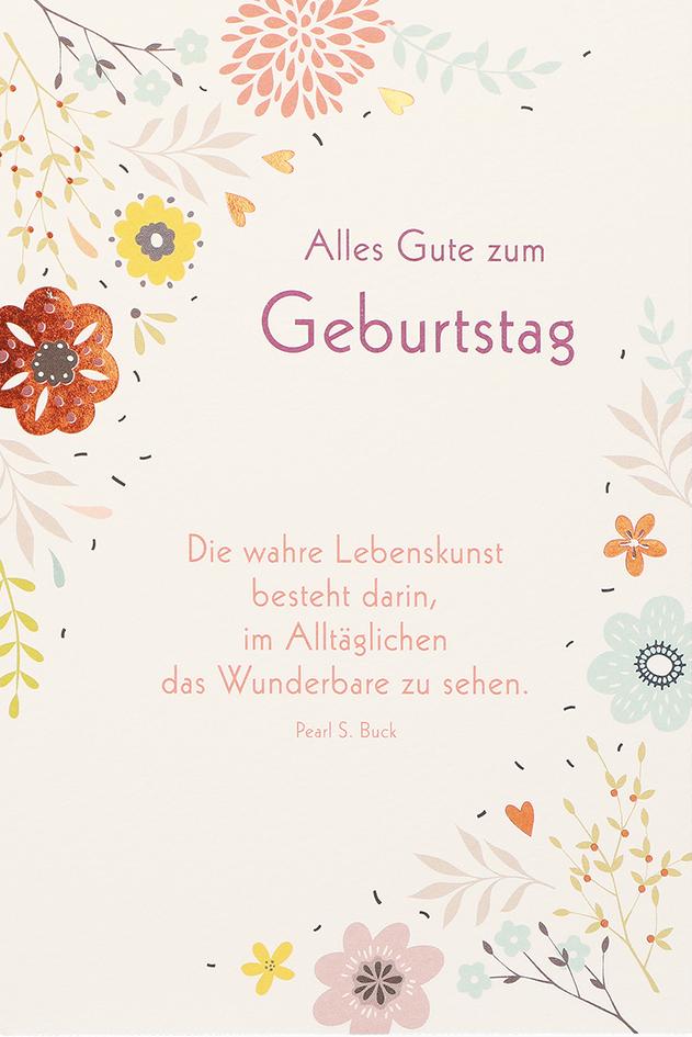 Geburtstagskarte Alles Gute Zum Geburtstag 6 Stck Gluckwunschkarte