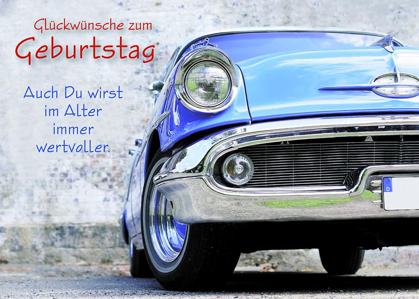 Postkarte Oldtimer Gluckwunsche Geburtstag 10 Stck Grusskarte
