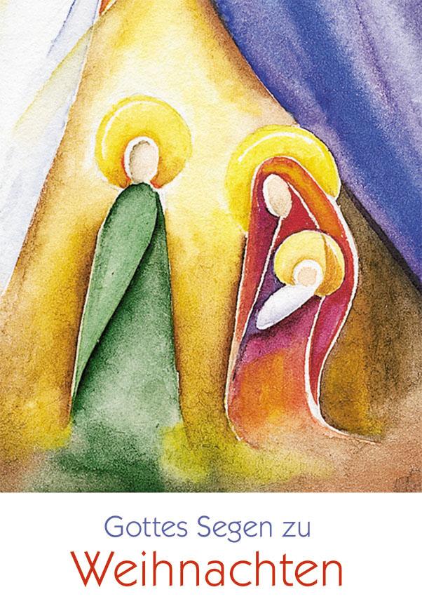 Weihnachtskarte Gottes Segen zu Weihnachten (6 Stck) Bibel Psalm ...