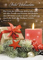 Frohe Weihnachten Text Karte.Postkarte Frohe Weihnachten 10 St Rote Kerze Geschenk Grusskarte