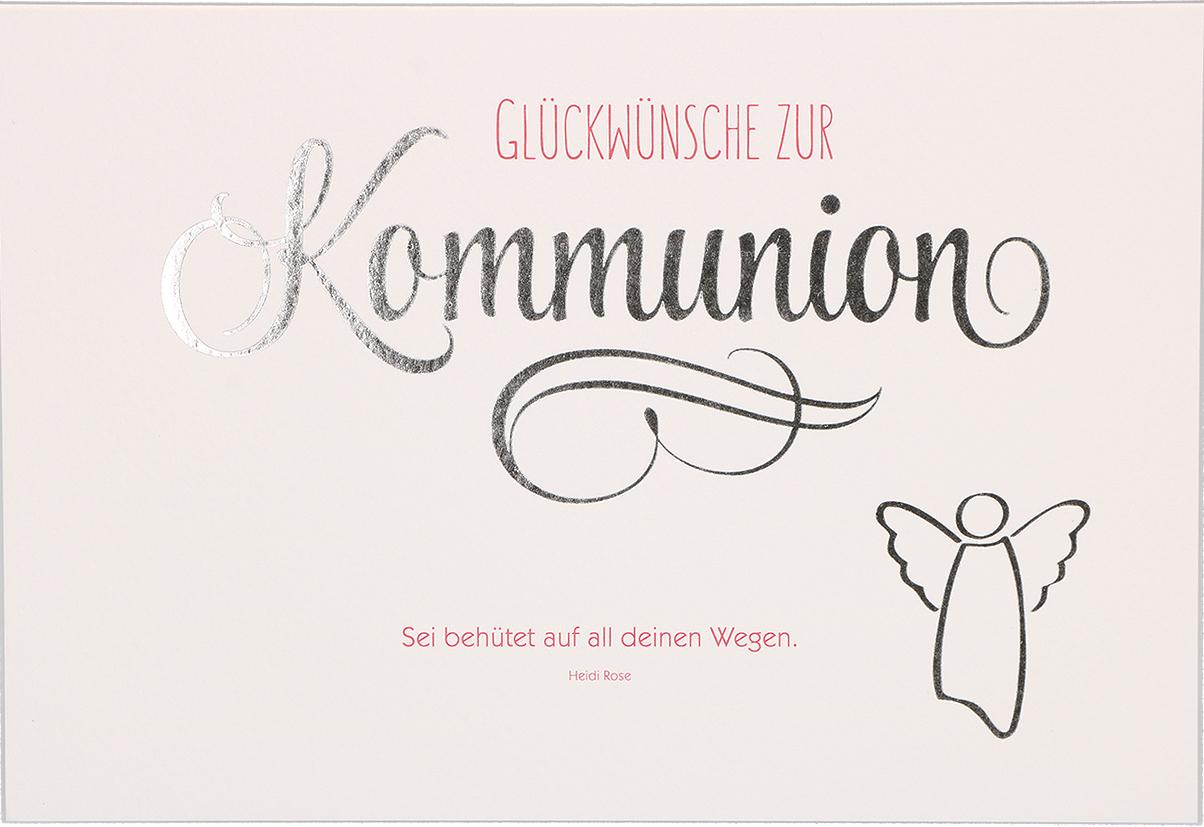 glückwunsch zur kommunion