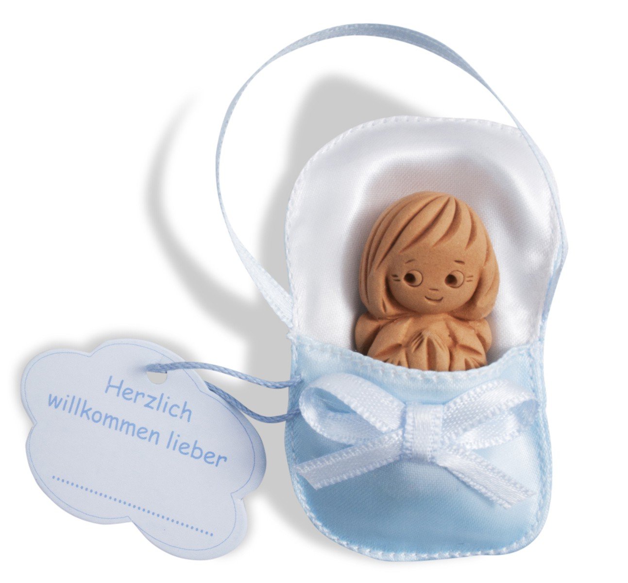 Babyschutzengel Blau 6 X 4 Cm Schutzengel Geschenke Zur Taufe