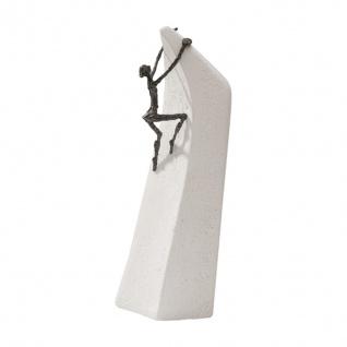 Bronzefigur Alles ist möglich 30 cm Bronze Kött-Gärtner Bronze Steinguss Figur