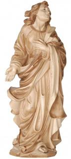 Heiliger Johannes unterm Kreuz Holzfigur geschnitzt Südtirol Schutzpatron - Vorschau 2