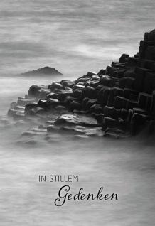 Trauerkarte In stillem Gedenken (6 Stck) Psalm 93 Beileidskarte Kondolenzkarte