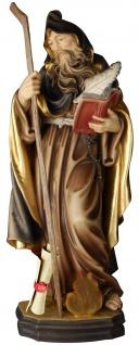 Heiliger Ephraem der Syrer Holzfigur geschnitzt Südtirol