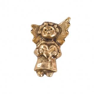 Handschmeichler Engel mit Herz 2 x 4 cm