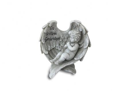 Engel In stillem Gedenken Grabschmuck