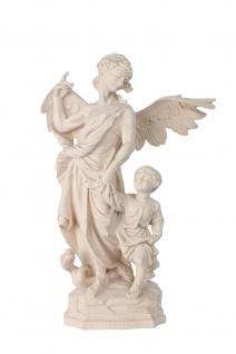 Heiliger Schutzengel Raphael Holzfigur geschnitzt Südtirol Schutzpatron Erzengel - Vorschau 3