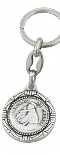 Schlüsselanhänger Christophorus Antonius 8 cm Christopherus Anhänger