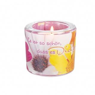 Glaswindlicht So Schön Teelicht Kerzenhalter Geschenkbox Glas für Windlicht