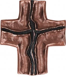 Wandkreuz Jesus Christus 14 cm Bronze Schmuckkreuz Kruzifix Kreuz
