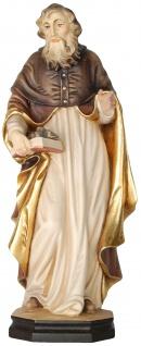 Heiliger Barnabas Apostel Holzfigur geschnitzt Südtirol Schutzpatron