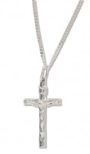 Kreuz Schmuck Jesus Christus Silber Anhänger 925 Kette Christlicher Schmuck