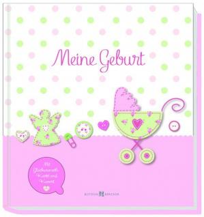 Erinnerungsalbum Meine Geburt, für Mädchen Christliche Bücher