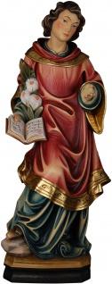 Heiliger Genesius Holzfigur geschnitzt Südtirol Schutzpatron