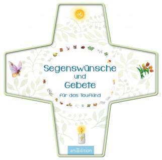 Segenswünsche und Gebete für das Taufkind Box mit 17 Kärtchen