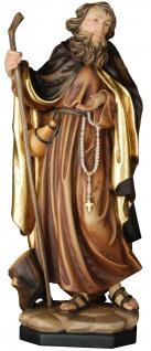 Heiliger Theodosius der Große Heiligenfigur Holz geschnitzt Schutzpatron