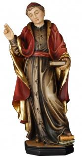 Kardinal Holzfigur geschnitzt Südtirol Heiligenfiguren